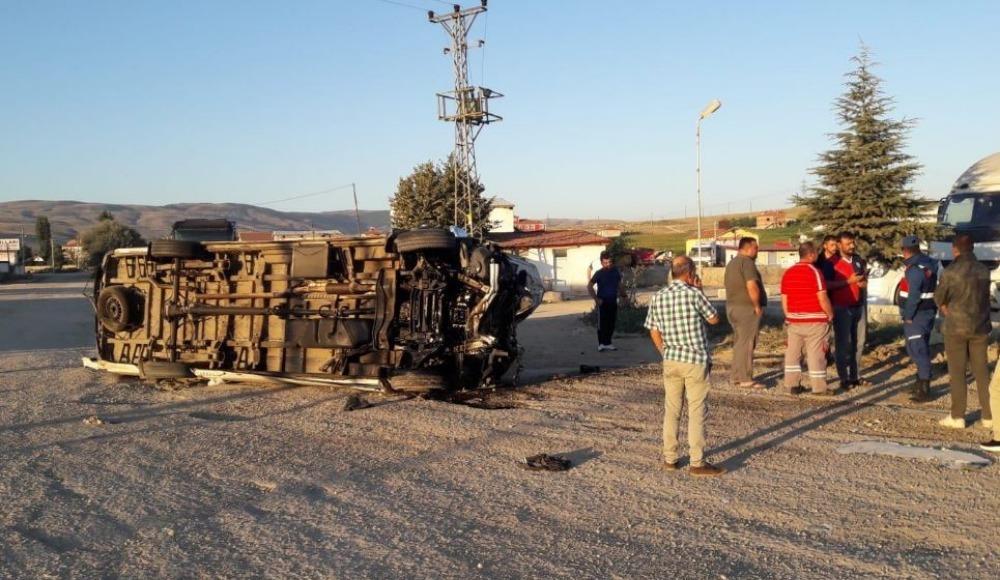 Yeni Malatyaspor taraftarları kaza geçirdi