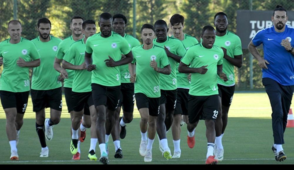 Atiker Konyaspor'da Antalyaspor maçı hazırlıklarını sürdürdü