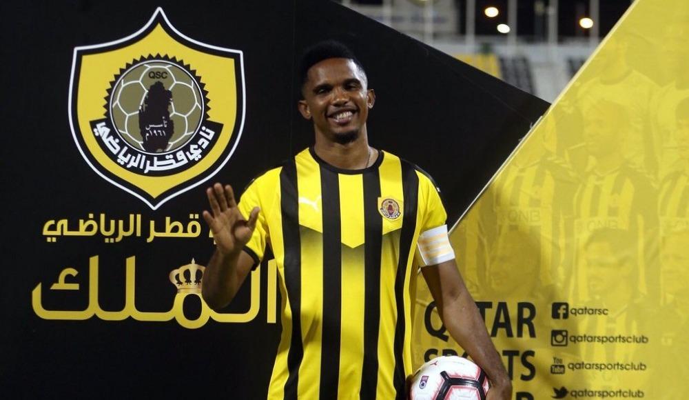 Samuel Eto'o 'nun Qatar Sport kulübünden ne kadar kazanacağı belli oldu