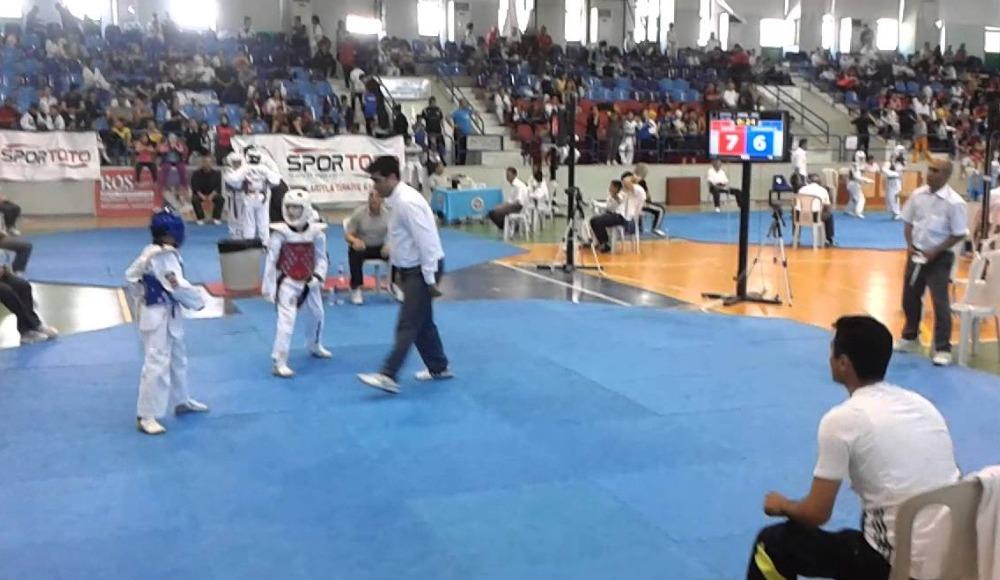 Türkiye Yıldızlar Tekvando Şampiyonası sona erdi!