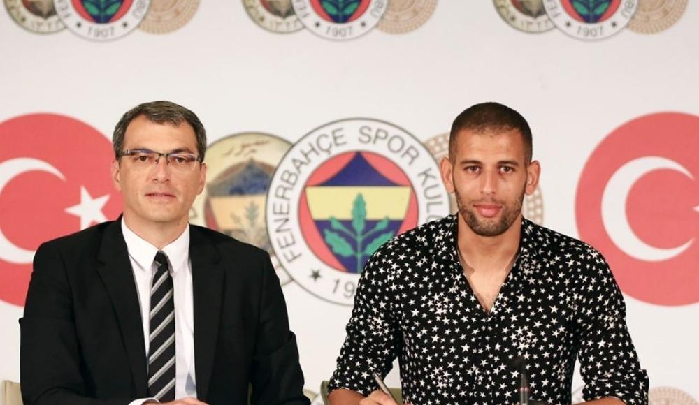 Fenerbahçe'nin yeni transferi Slimani imzayı attı! Derbi ve gol sözleri!