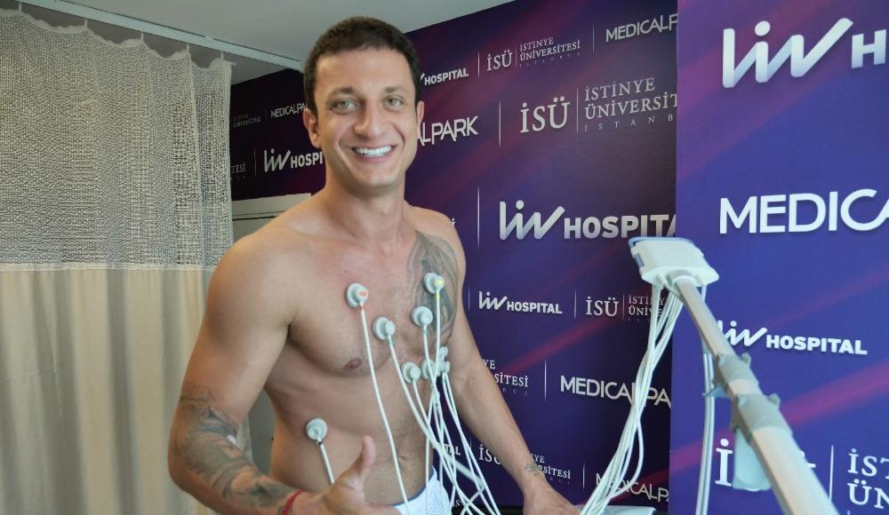 Bahçeşehir Koleji Spor Kulübü'nde sağlık kontrolleri yapıldı