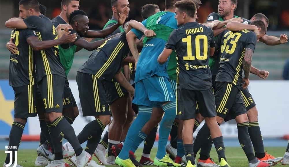 Juventus, 2-1 yenik duruma düştüğü maçta 3-2 kazanmasını bildi