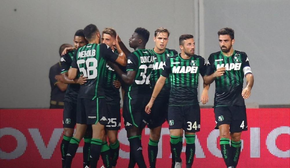 Sassuolu sahasında konuk ettiği Inter'i mağlup etmeyi başardı