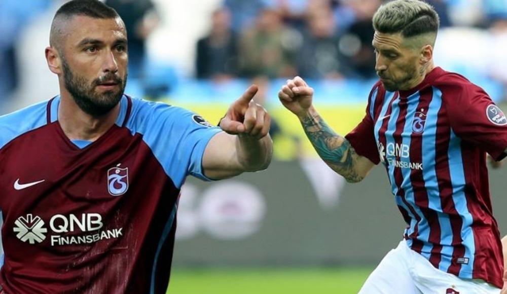 Trabzonspor'dan transferde Burak ve Sosa açıklaması
