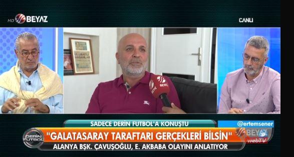 """""""Fenerbahçe'ye söz verdik kadro dışı bırakırız demedim"""""""
