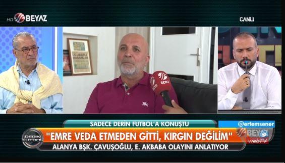 """""""Mustafa Cengiz ile beraberdi bunu söyledim"""""""