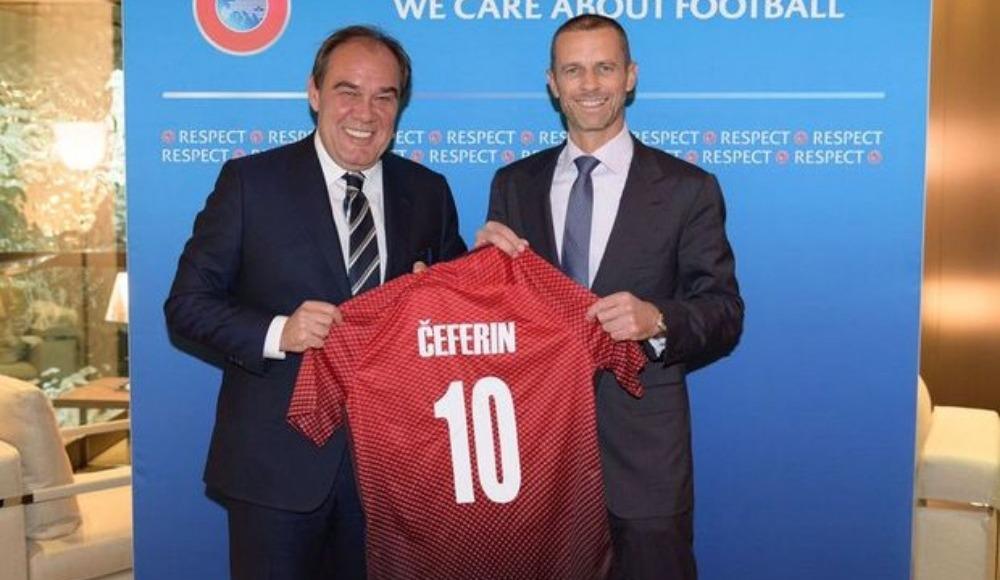 TFF, UEFA Başkanlık seçiminde Ceferin'i destekleyecek!
