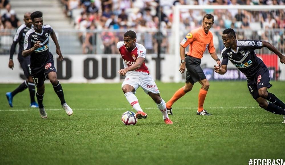 Bordeaux sahasında Monaco'ya geçit vermedi! 2-1