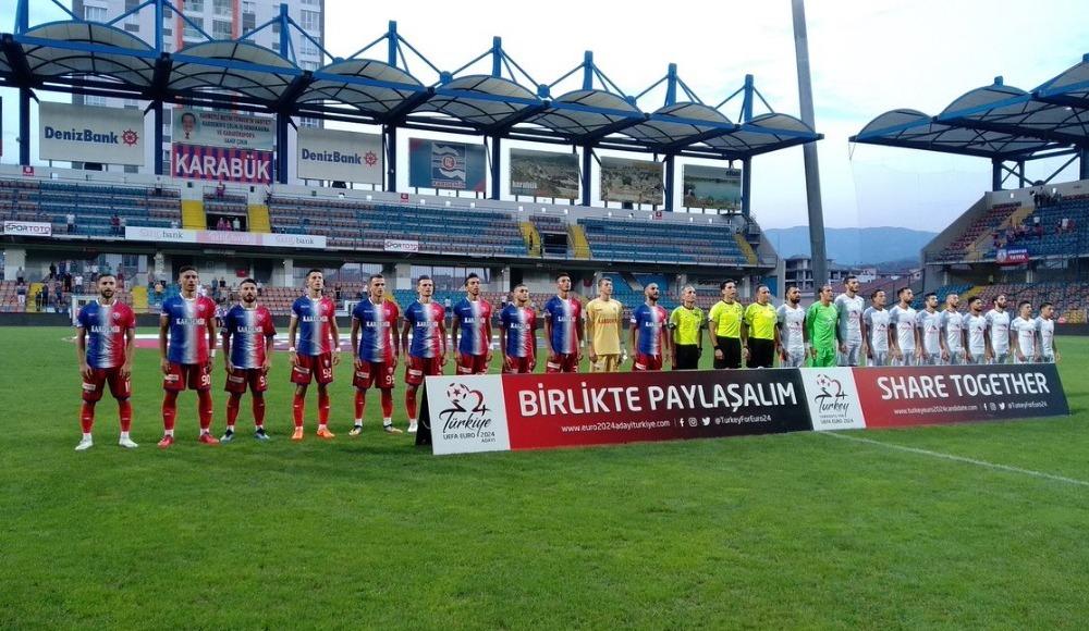 Karabük'te puanlar paylaşıldı!