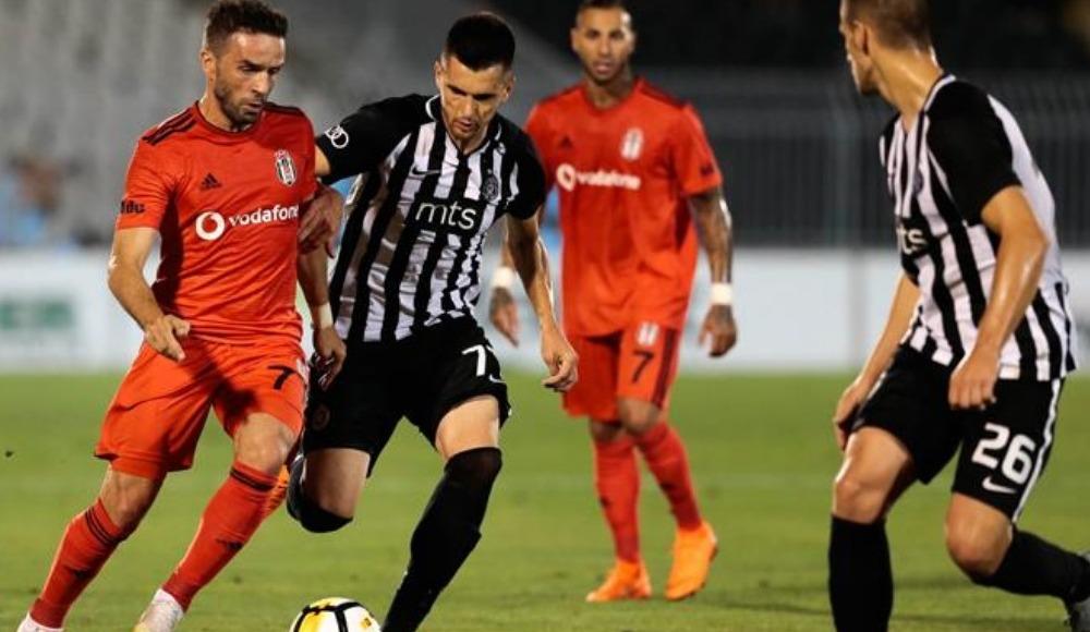Partizan İstanbul'a geldi