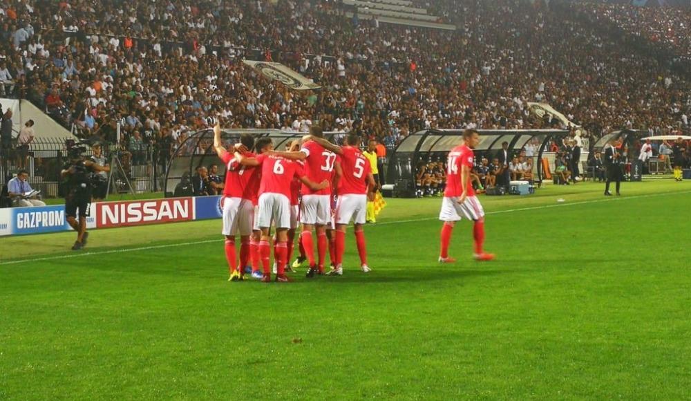 Benfica, PAOK'a acımadı!
