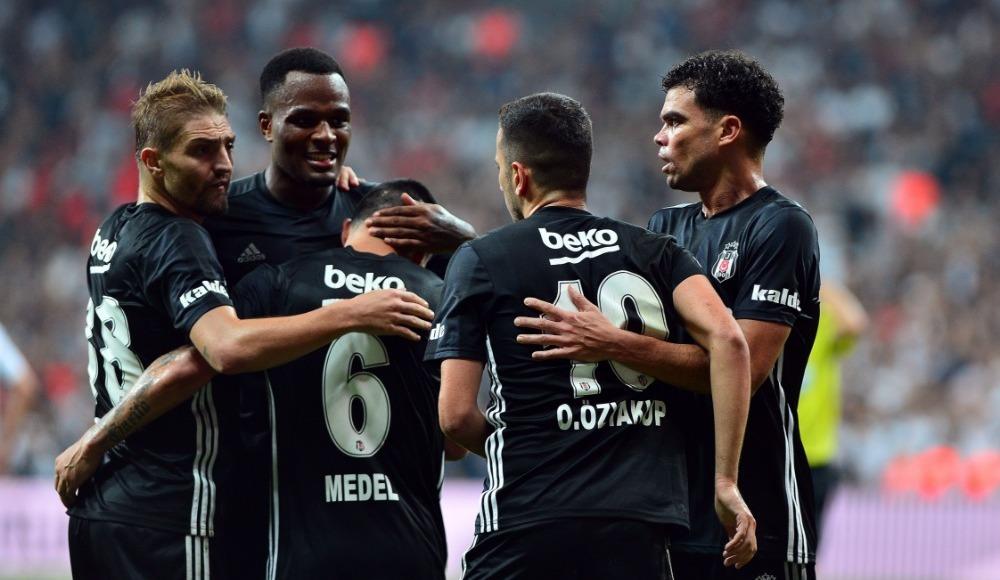 Beşiktaş, Avrupa Ligi'nde gruplara kaldı!