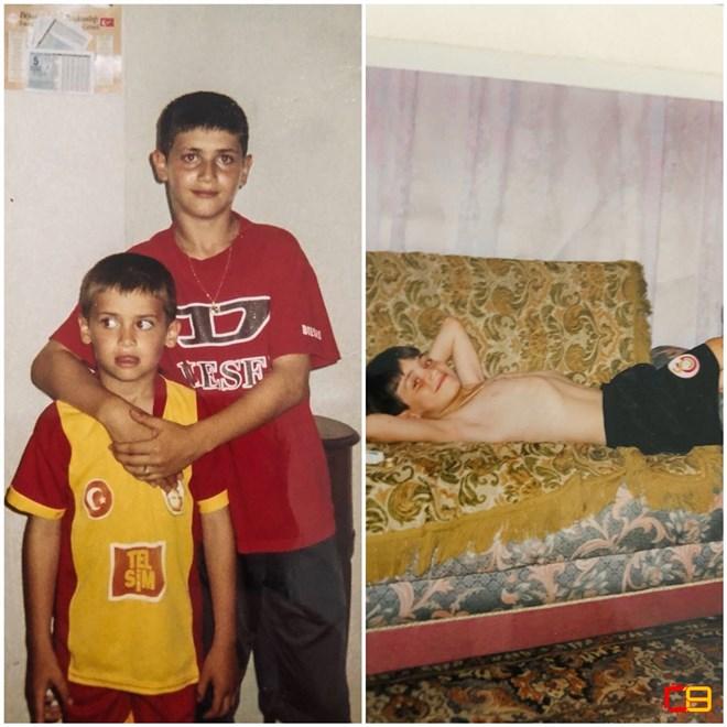 İşte Ömer Bayram'ın çocukluk fotoğrafları