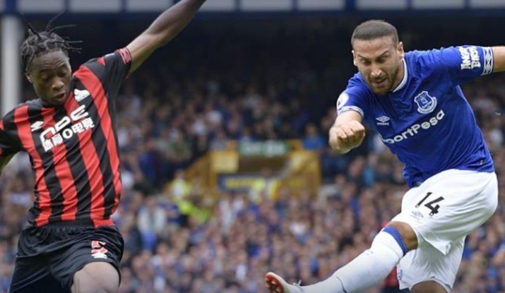 Cenk Tosun'un takımı Everton sahasında takıldı