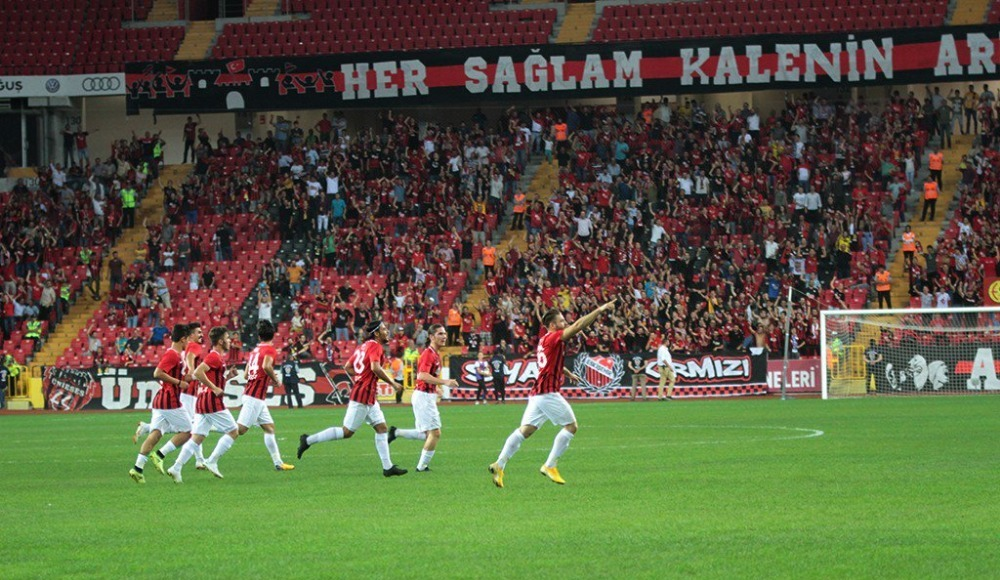 Eskişehirspor'dan ilk galibiyet!