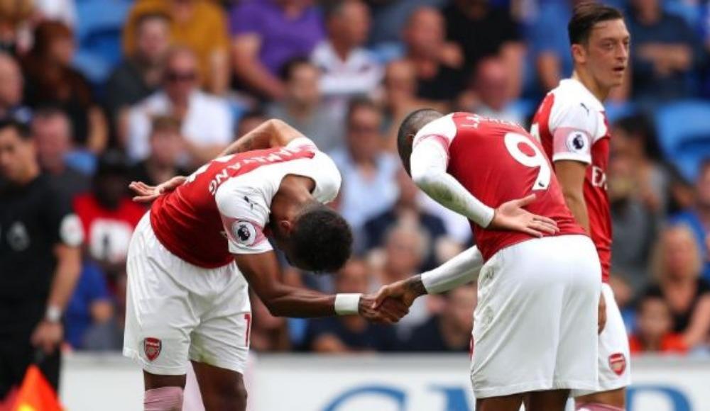 Arsenal deplasmanda 3 puanı aldı, Lacazette damga vurdu!