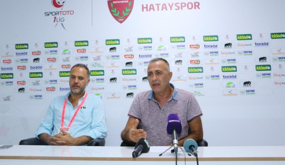 Murat Sönmez: 'Ümit veren bir Hatayspor var'