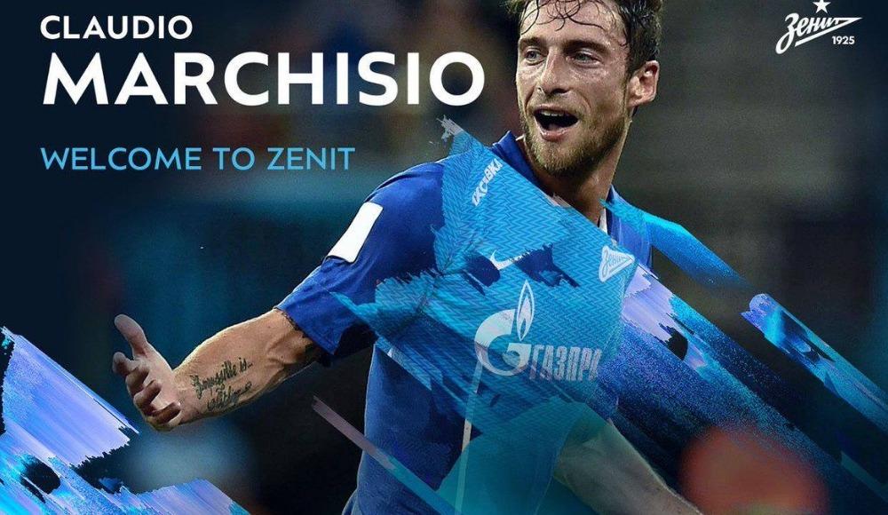 Zenit, Claudio Marchisio'yu kadrosuna kattı