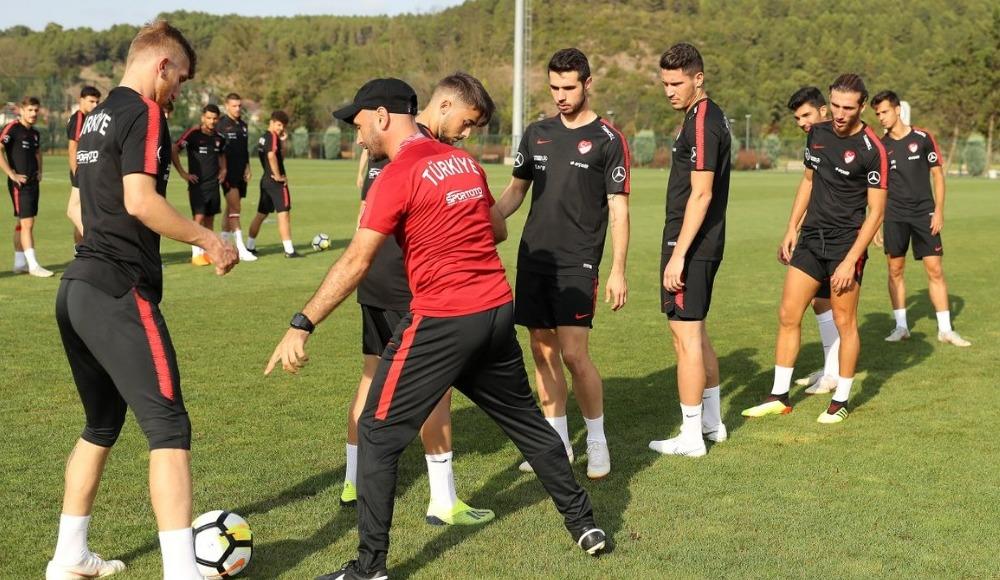 Ümit Milli Futbol Takımı, Andorra maçı hazırlıklarını sürdürdü