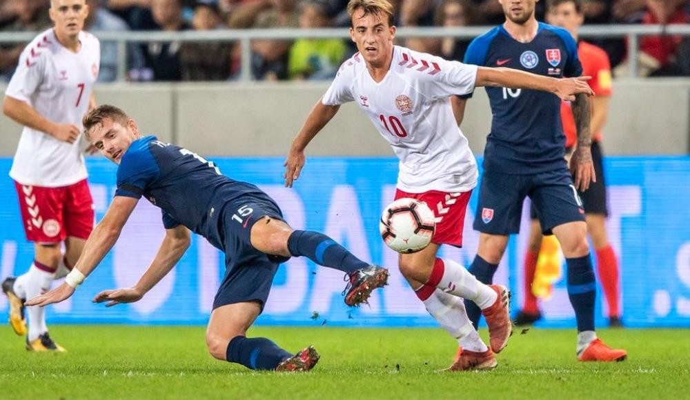 Slovakya hazırlık maçında Danimarka'yı rahat geçti