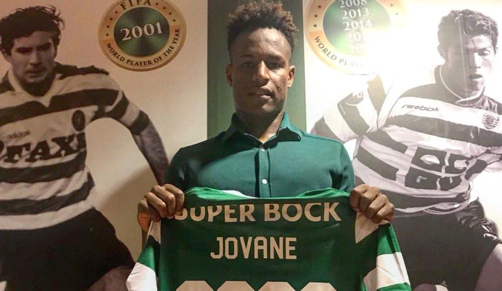 Sporting Lizbon, Jovane Cabral ile sözleşme yeniledi