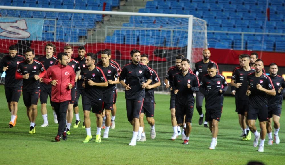 Türkiye A Milli Takımı hazırlıklarını tamamladı