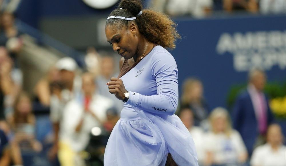 Serena finali sakatlığı yüzünden tamamlayamadı