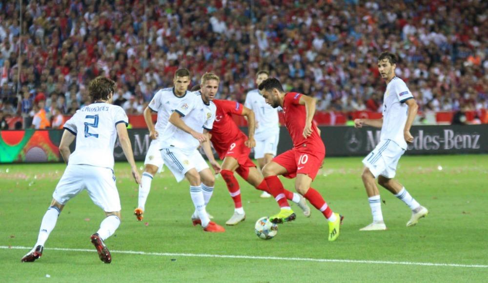 Milliler kötü başladı! Türkiye 1 - 2 Rusya...