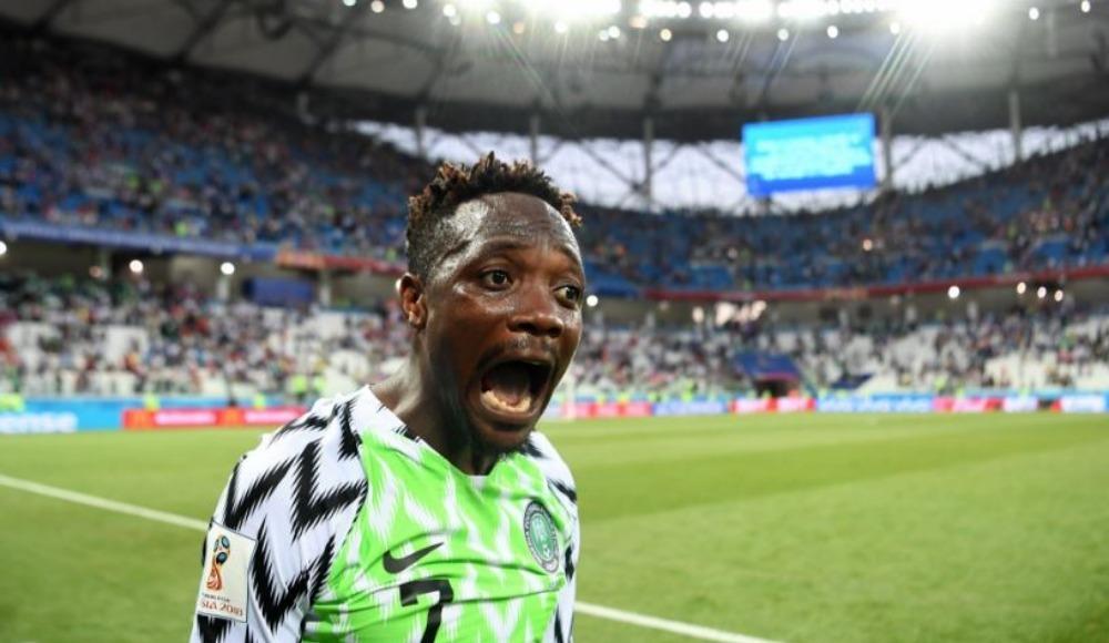 Nijerya ilk yarıda işi bitirdi! Onyekuru ve Onazi...