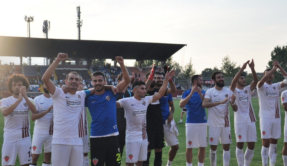 İnegölspor, Gaziantepspor'u 3-1 mağlup etti!