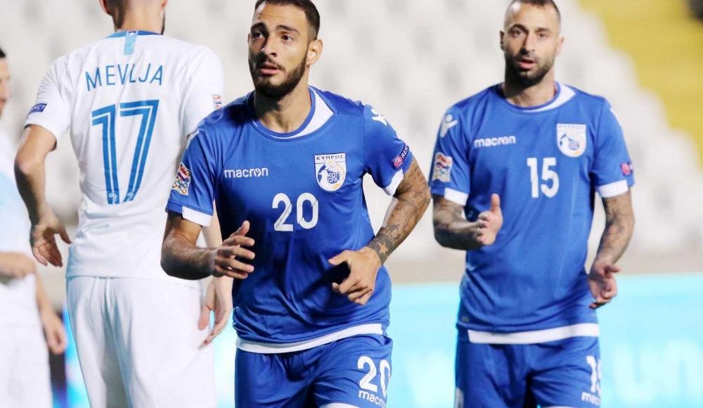 Güney Kıbrıs, Slovenya'yı mağlup etti