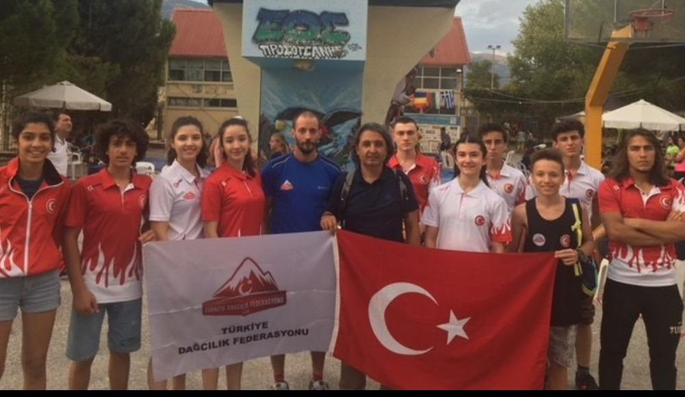Balkan Boulder Şampiyonası'nı 3 madalya ile tamamladık