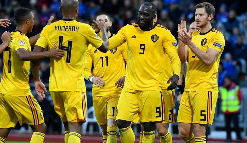 Belçika deplasmanda İzlanda'yı mağlup etti
