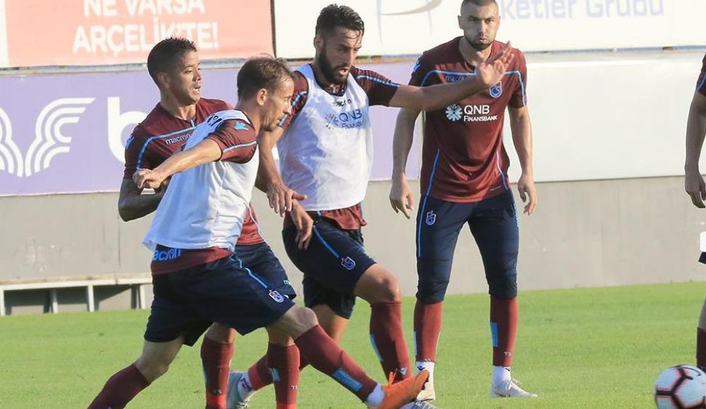 Trabzonspor'a iki kötü haber birden! İdmanı tamamlayamadılar...