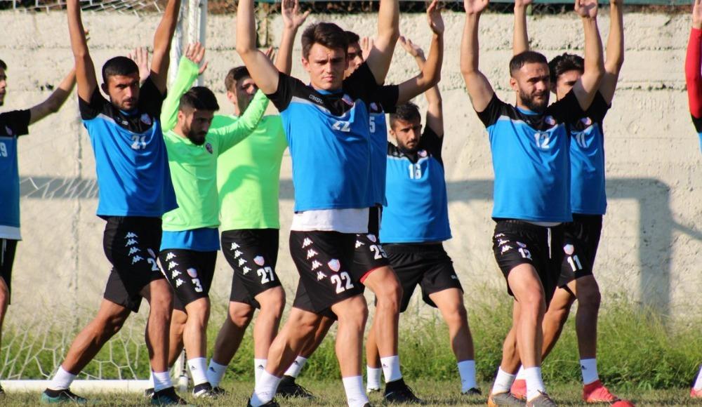 Kardemir Karabükspor'da Osmanlıspor maçı hazırlıkları devam ediyor