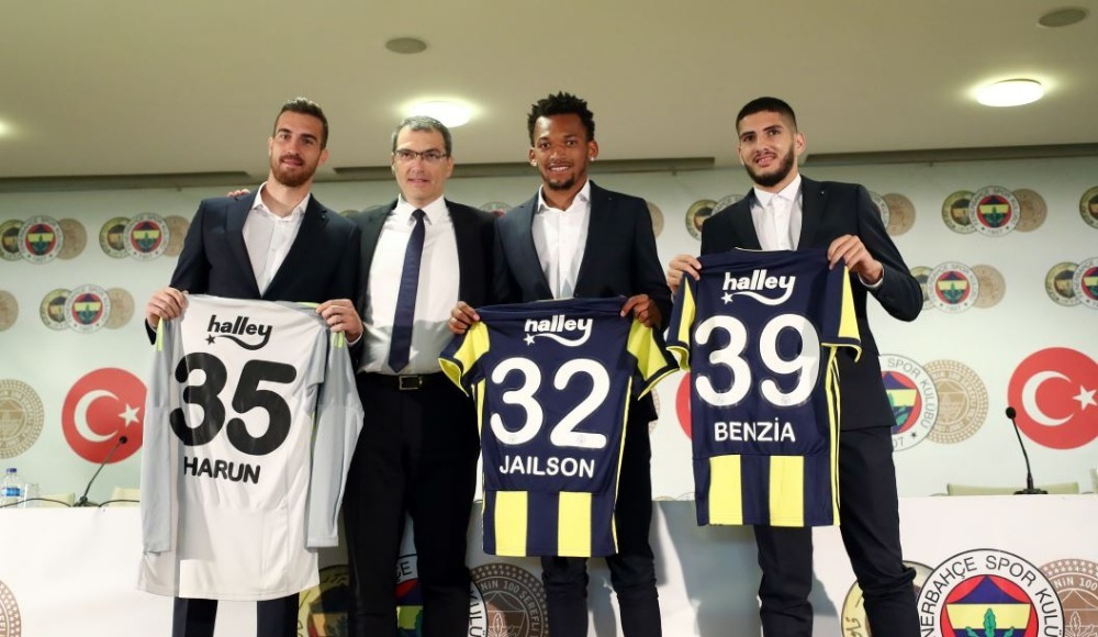 Fenerbahçe'de üç isimle imzalar atıldı! İmza töreninde flaş sözler!