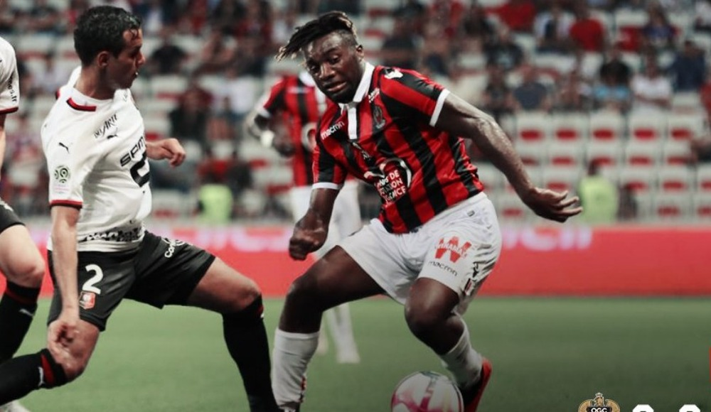 Nice, sahasında Rennes'i mağlup etti