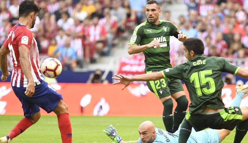 Atletico Madrid bir puanı 90+4'te kurtardı!