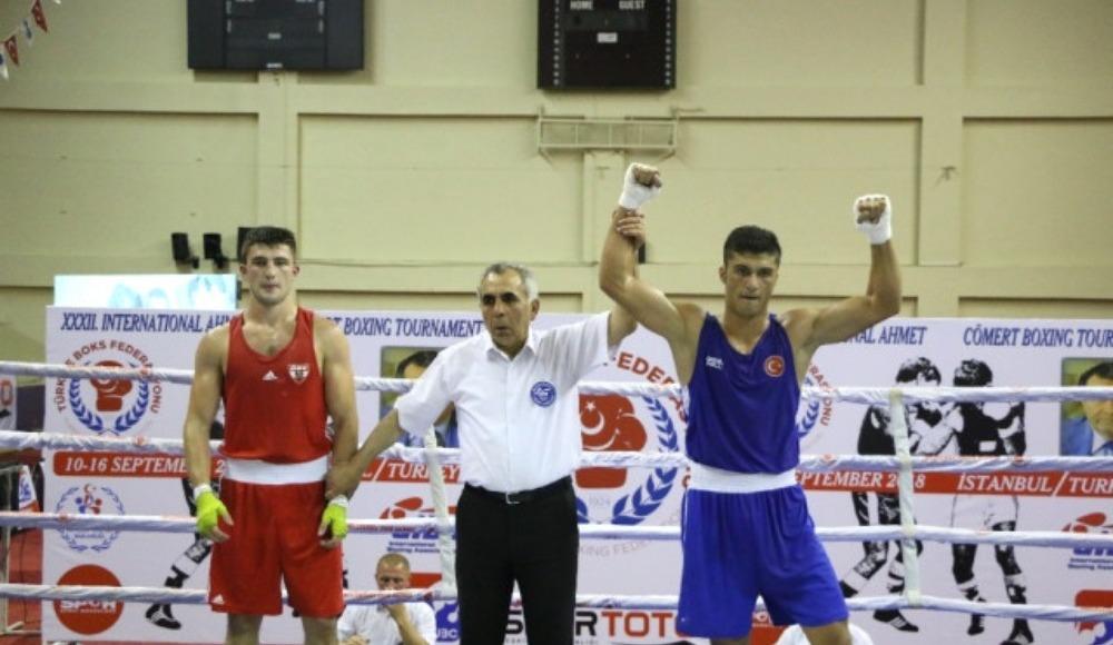 32. Uluslararası Ahmet Cömert Boks Turnuvası'nda Türkiye, 31 madalya kazandı