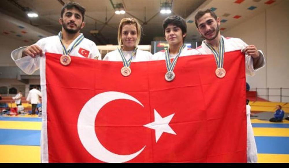 Avrupa Gençler Judo Şampiyonası'nda iki madalya!
