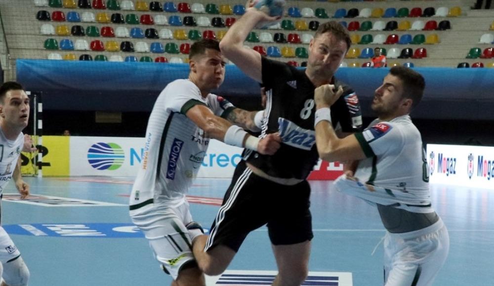 Beşiktaş Mogaz Erkek Hentbol Takımı, EHF Şampiyonlar Ligi'nde TATRAN Presov'a 28-22 yenildi