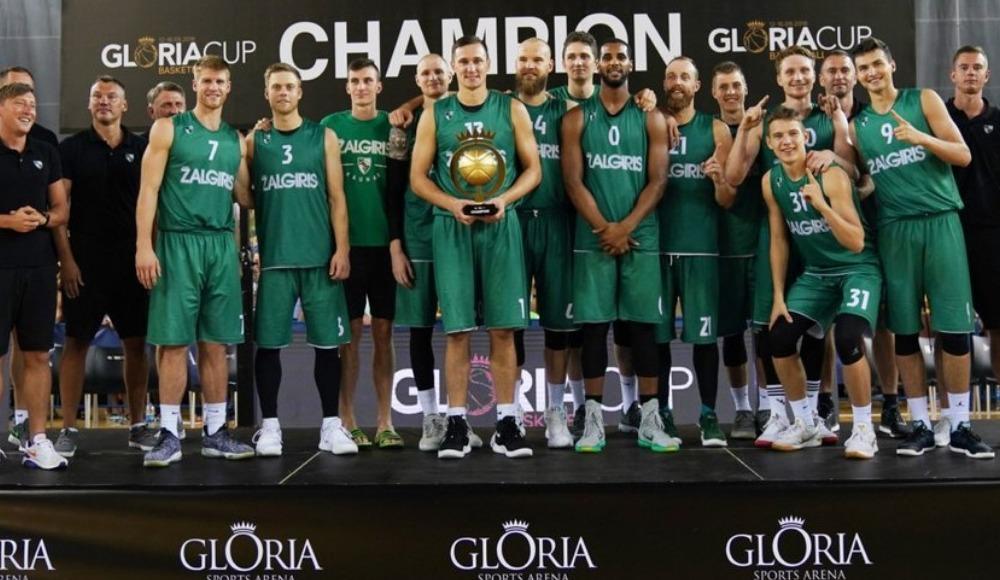 Gloria Kupası'nda şampiyon Zalgiris Kaunas!