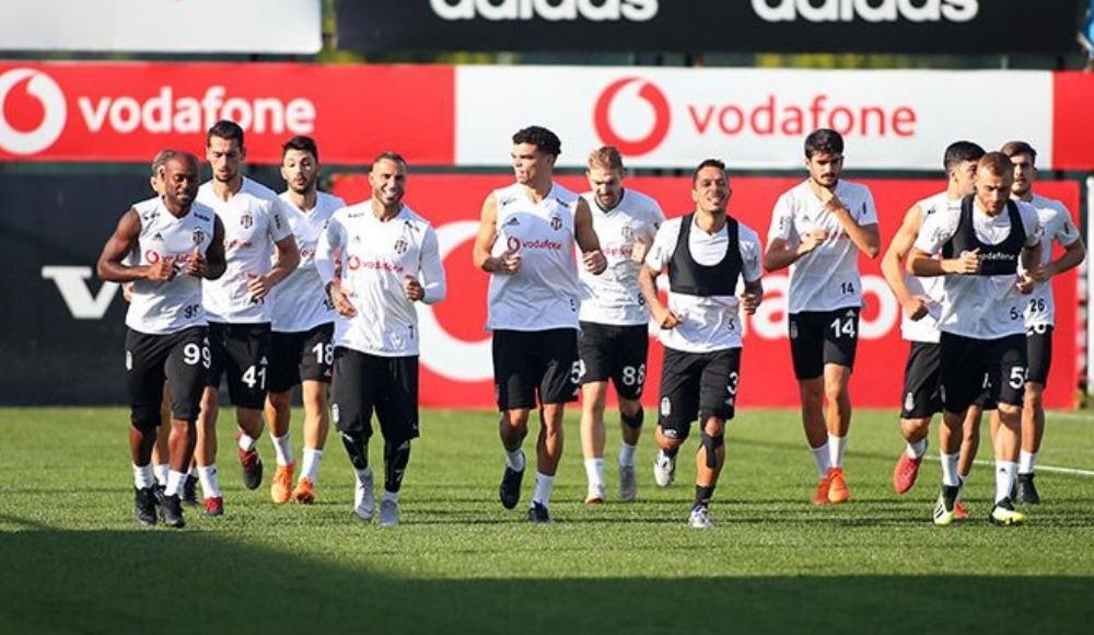 Beşiktaş, Sarpsborg maçının hazırlıklarına başladı