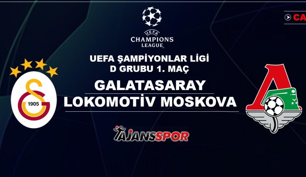 Galatasaray'ın rakibi Lokomotiv Moskova