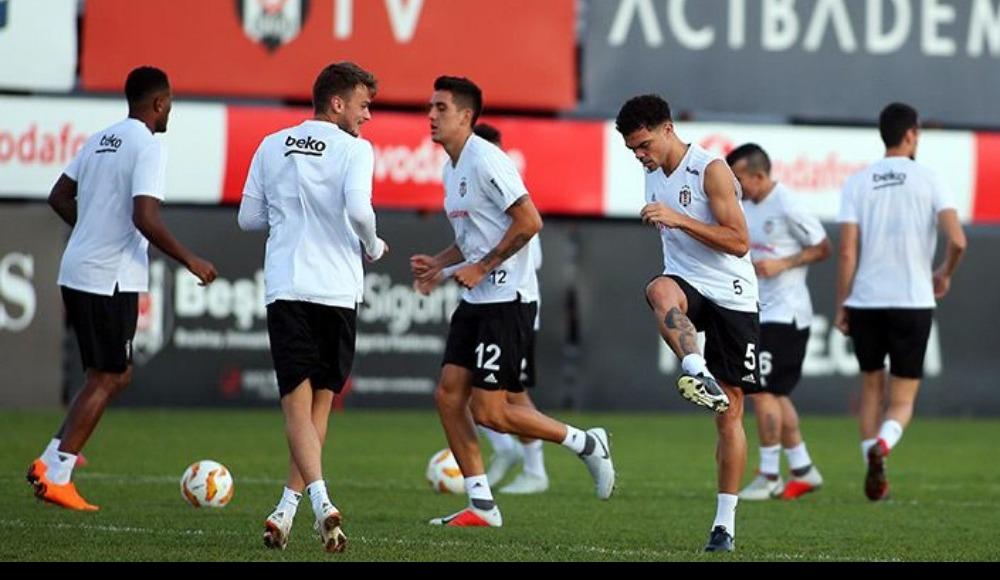 Beşiktaş'ta UEFA Avrupa Ligi mesaisi