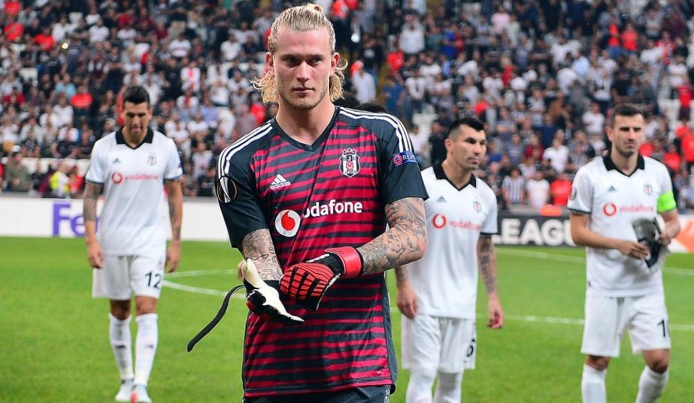 Loris Karius, Beşiktaş'ta ilk Avrupa mücadelesine çıktı!