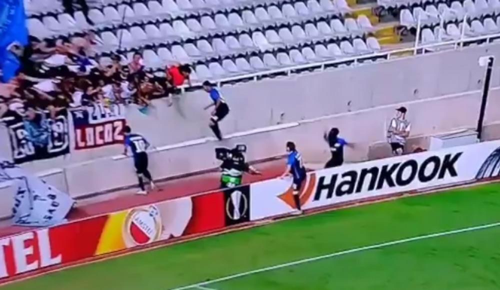 Video - Golü attı, büyük tehlike atlattı