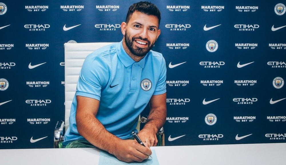 Manchester City, Agüero'nun sözleşmesi uzattı!