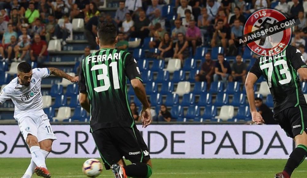 Sassuolo, Empoli'yi 3-1 mağlup etti